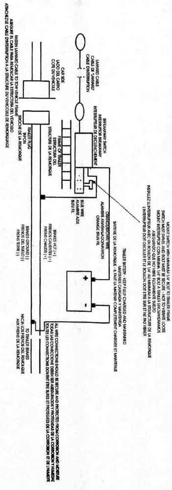 Trailer Breakaway Wiring Diagram : 32 Wiring Diagram